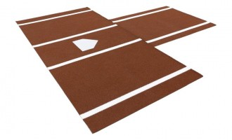Clay colored mat