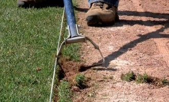 Excellent for edging, cultivating, aerating, and weeding field turf