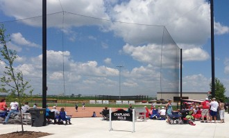 Beacon Tie-back Net Backstop - Chaplain's Field, Fremont, NE