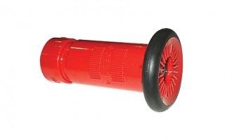 Corrosion-resistant thermo-plastic nozzle