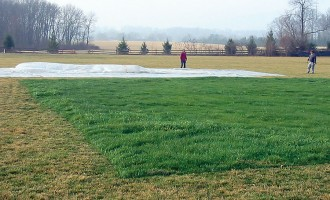 Get ahead and stay ahead of spring green-up with a growth cover