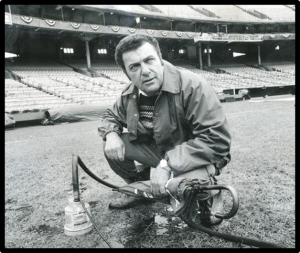 MLB Groundkeeper Pat Santarone
