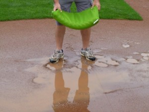 baseball field puddle sponges