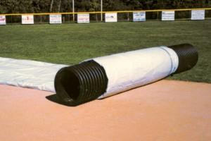 full infield tarp storage