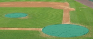 baseball area tarps