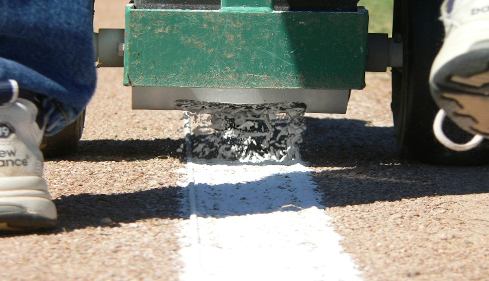baseball field chalk