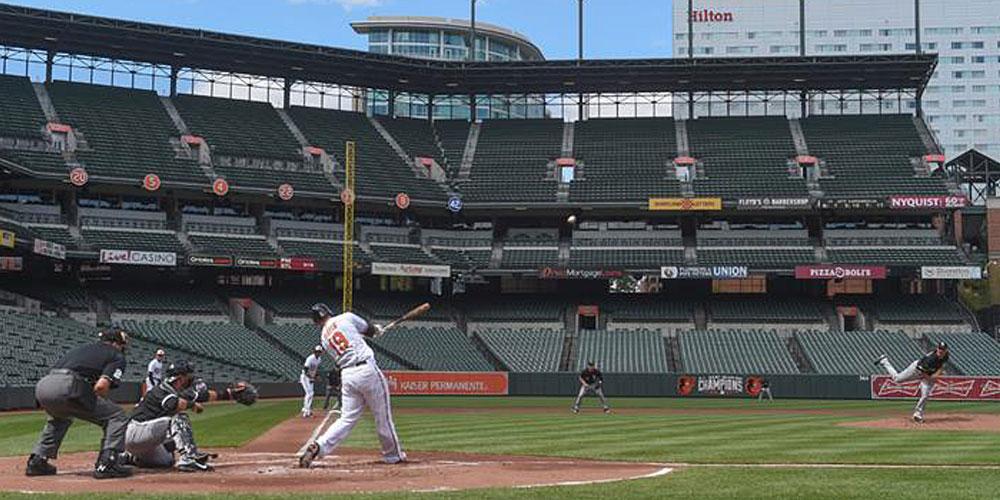 empty ballpark orioles