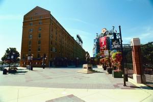 Orioles baseball ballpark landscaping
