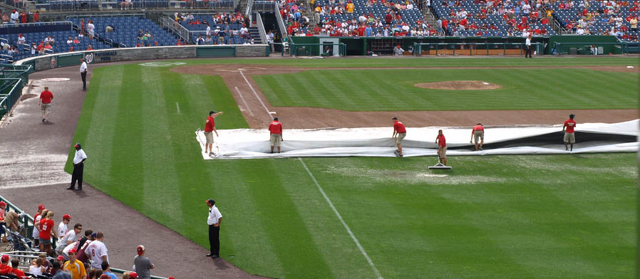 preventing field tarp pull injuries