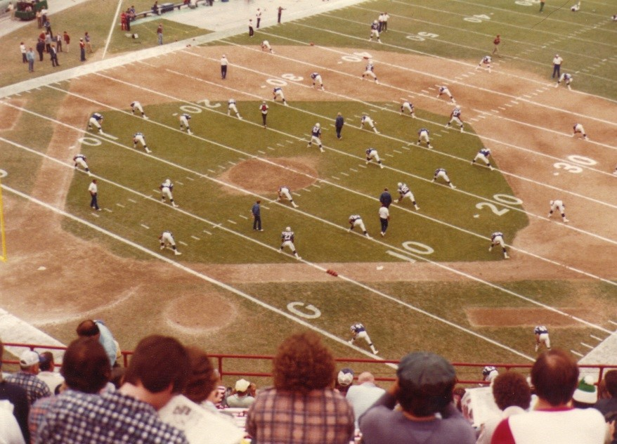 baseball football field