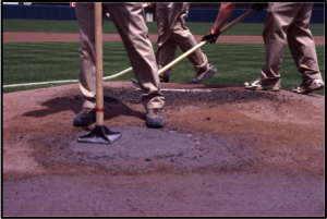 Clay Pitchers Mound