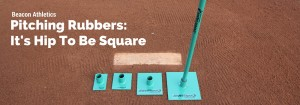 Beacon Athletics Squaring Pitching Rubbers