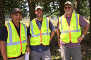 Kelly Kimura, Jeremy Nelson, Mike Carr - City of Portland Parks and Rec