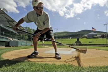 baseball field rake