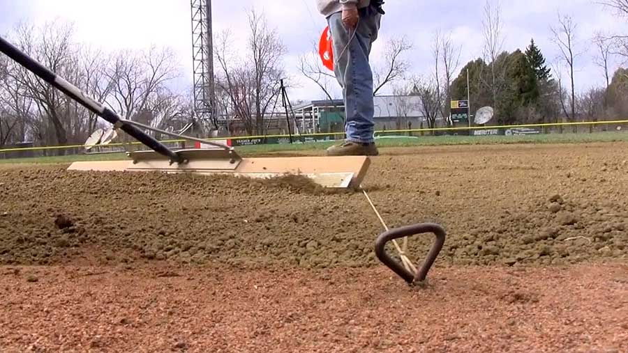 Leveling your infield skin