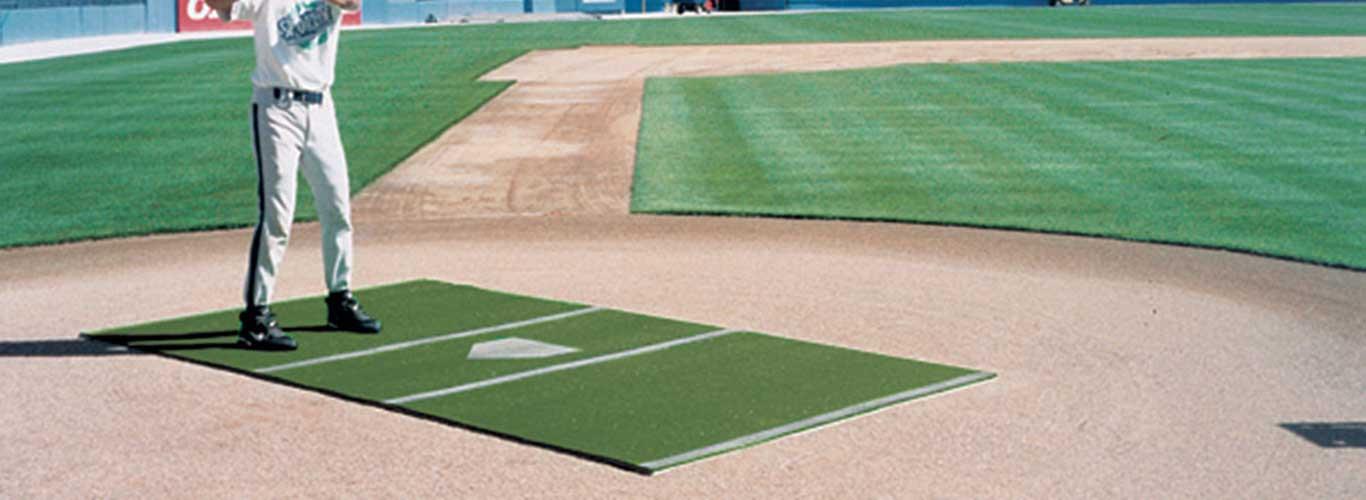 3.5/' x 12/' SyntheticTurf Baseball Softball Batting Cage Practice Hitting Rug Mat